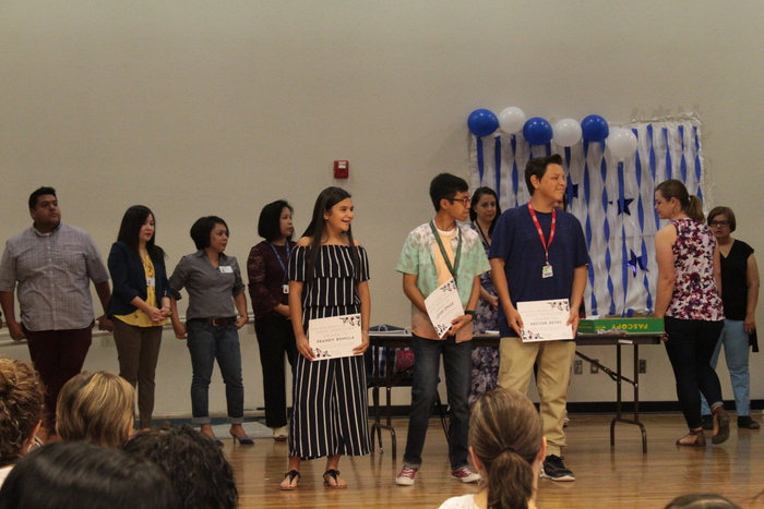 Awards for 8th Grade