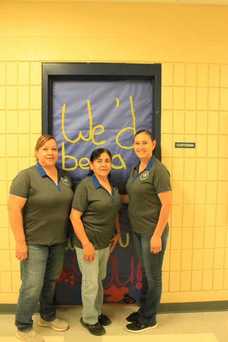 Custodians at PHS by AArm