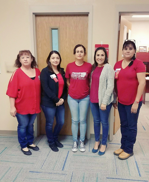 LRFMS Wears Red for Red Ribbon week